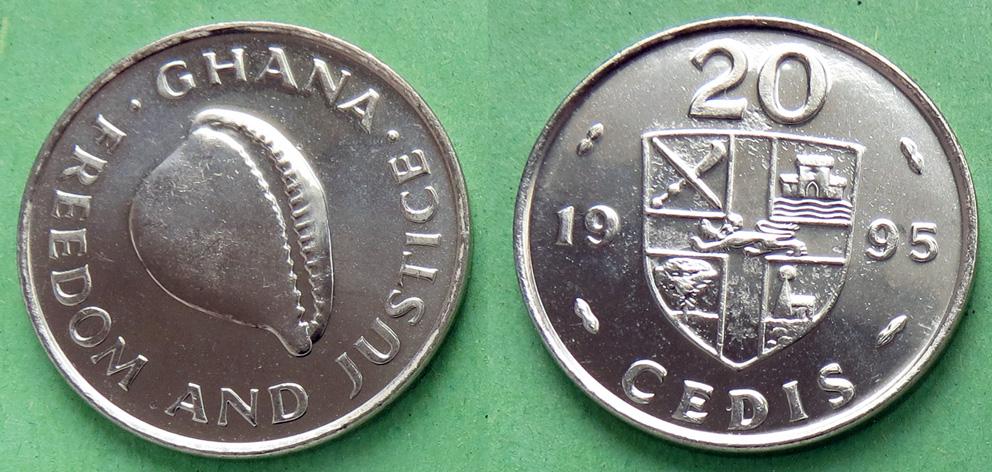 Гана 20 седи 1995