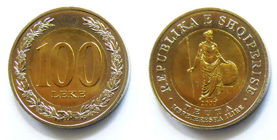 Албания 100 лек