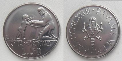 Ватикан 50 лир