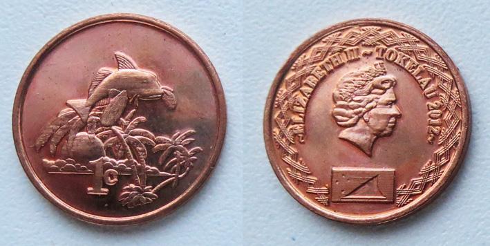 токелау 1 цент