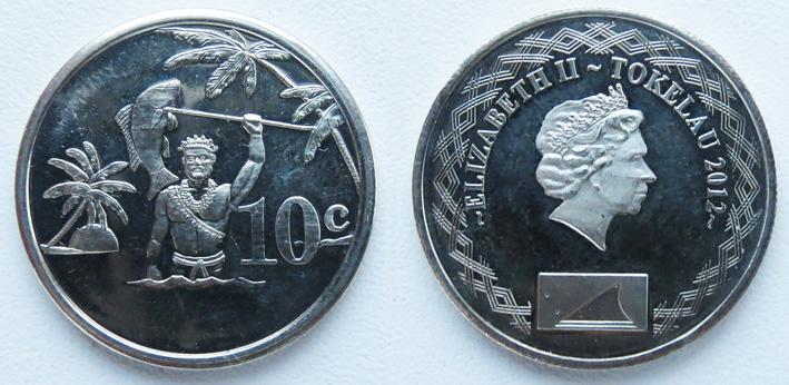 токелау 10 центов