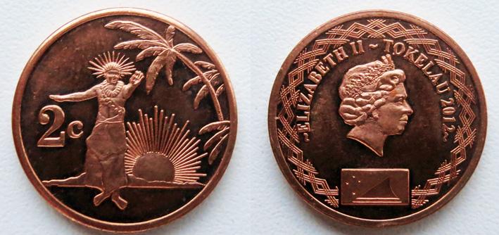 токелау 2 цента