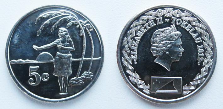 токелау 5 центов