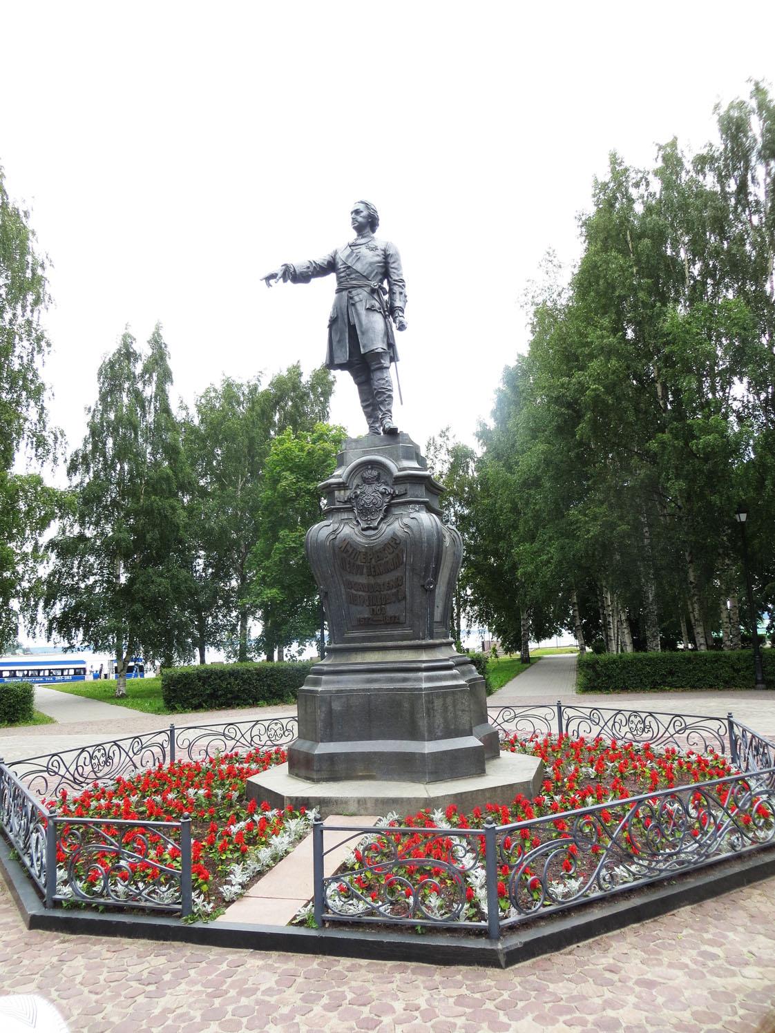 Петрозаводск Петр 1